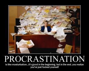 Indulgent Procrastination