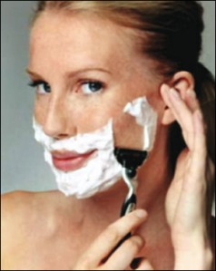 Shaving my love for you.....